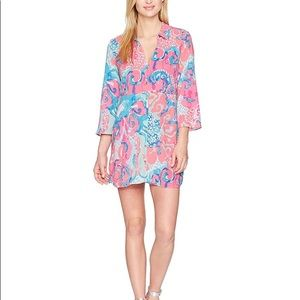 NWT Lilly Pulitzer Emerald Beach Cover Up size L